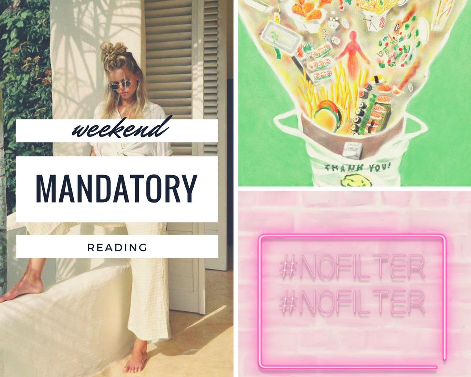 Weekend Mandatory Reads